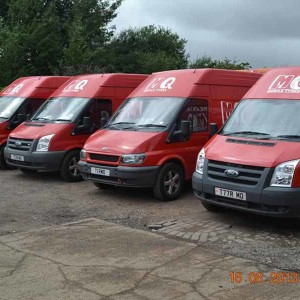 MQ Mobile Tyres Four Vans