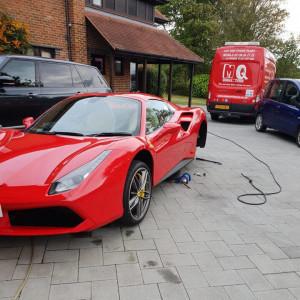 Ferrari Tyre Fitting