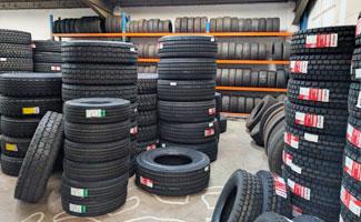 Tyres Stock