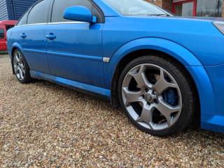 blue Vauxhall