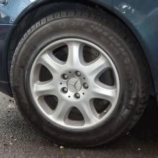 A Run Flat Tyre