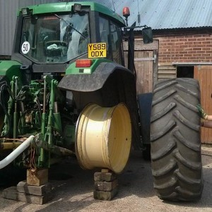 Tractor Tyre Fitting
