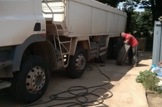 Truck Tyre Fitting Service
