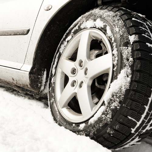Supply & install winter tyres